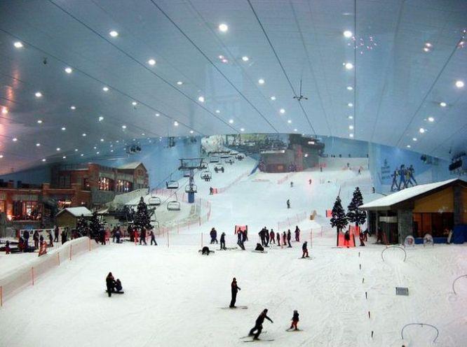 Ski Dubai — первый крытый горнолыжный комплекс на Ближнем Востоке, Дубай, ОАЭ
