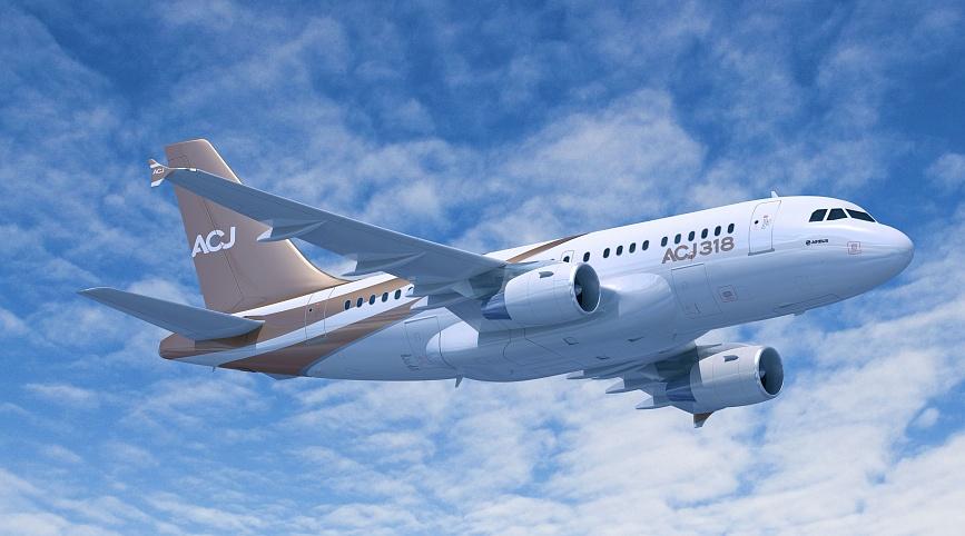 Частная аренда Airbus ACJ318